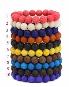 10mm Lava Aromatherapy Diffuser Bracelet